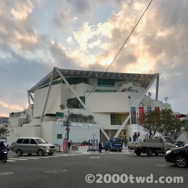 台南市美術館(オープン前)