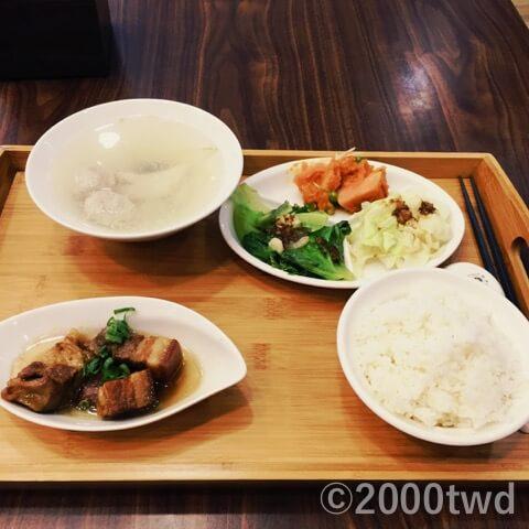 紹興東坡鮮肉套餐1
