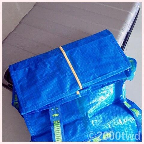 IKEAのトロリー用バッグ