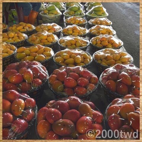 玉井マンゴー市場