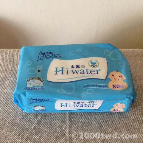 康乃馨 Carnation 水濕巾 Hi-water