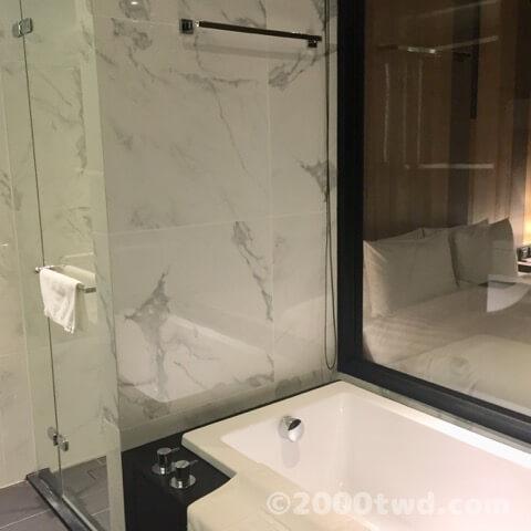 シャワーブース分離タイプ
