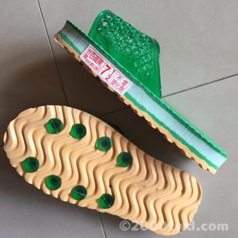 7と1/2サイズの台湾子供用サンダル