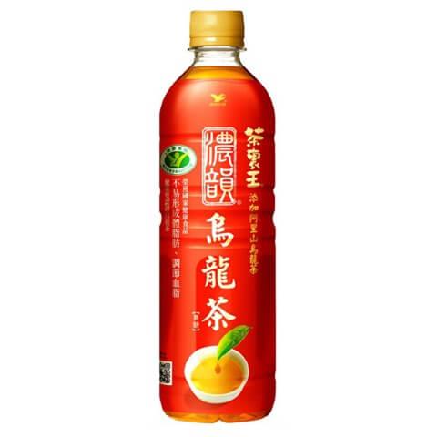 台湾の赤いペット烏龍茶といえば茶裏王の濃韻烏龍茶