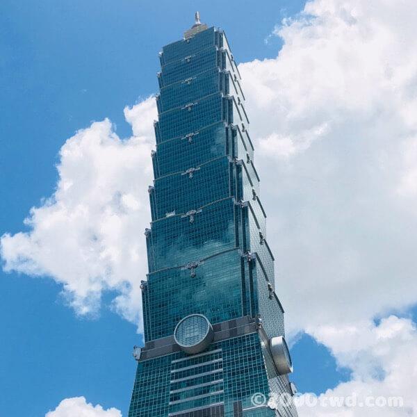 台北101(2018年撮影)