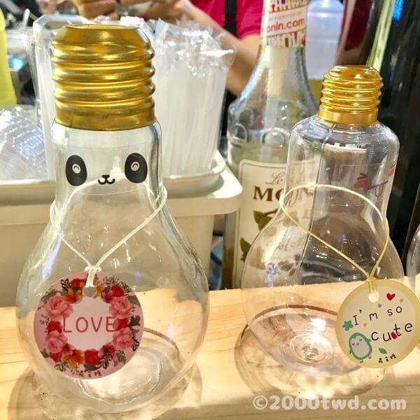 カスタマイズ電球ボトル