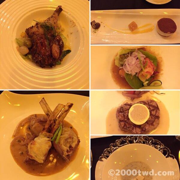 隨意鳥地方101義大利菜餐廳のディナーコース