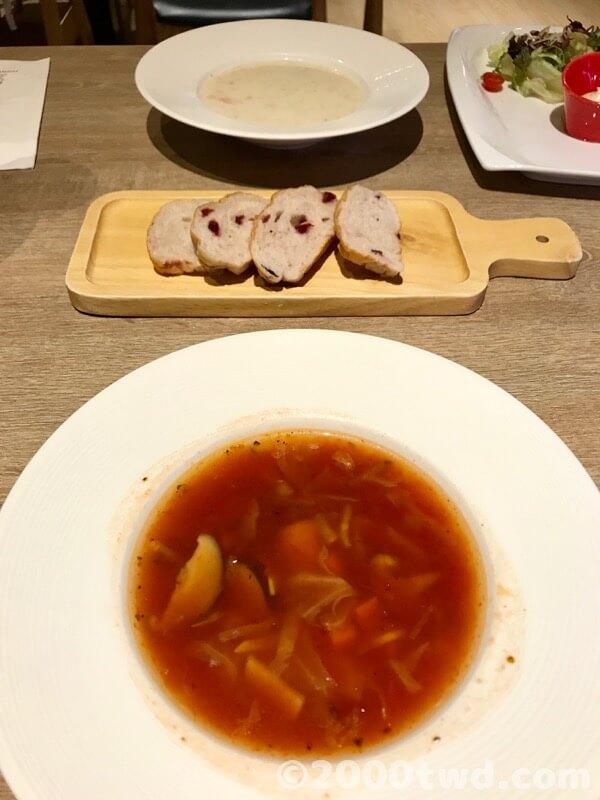 パン・スープ