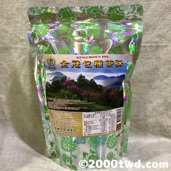 金冠包種茶酥・パッケージ袋