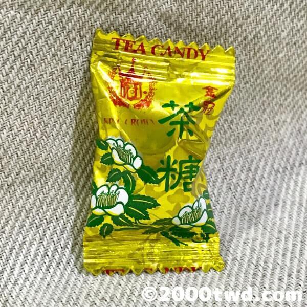 金冠包種茶糖・個包装