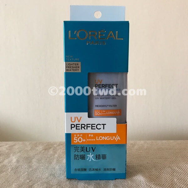 ロレアルパリ UV PERFECT(スーパーアクアエッセンス)
