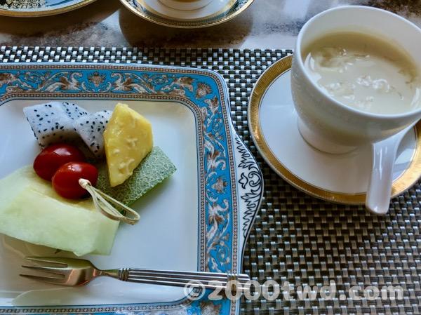 季節のフルーツ・手作りデザート