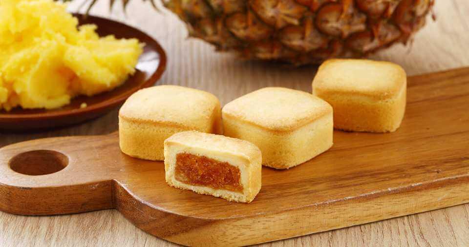 裕珍馨パイナップルケーキ