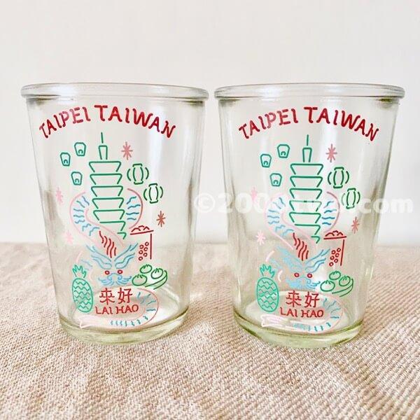 来好台湾ビールグラス