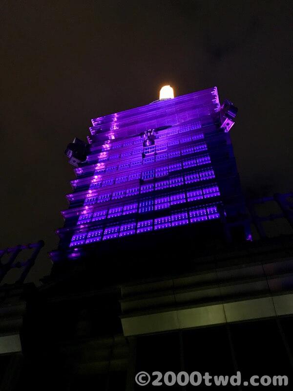 台北101の91階の夜景