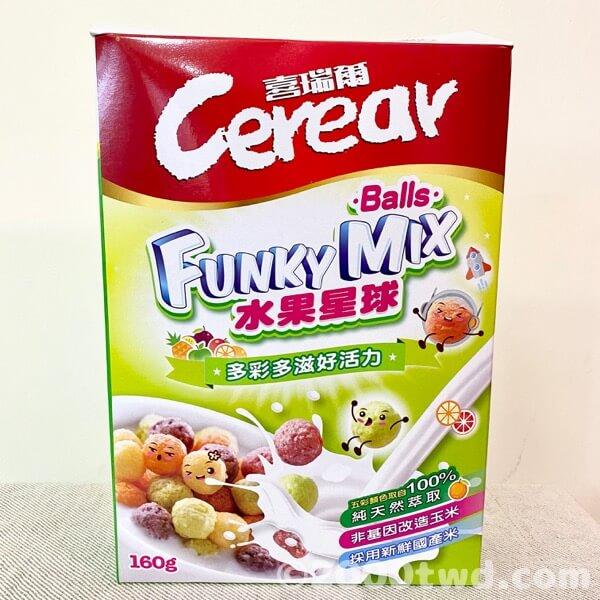 喜瑞爾FUNKY MIX水果星球パッケージ