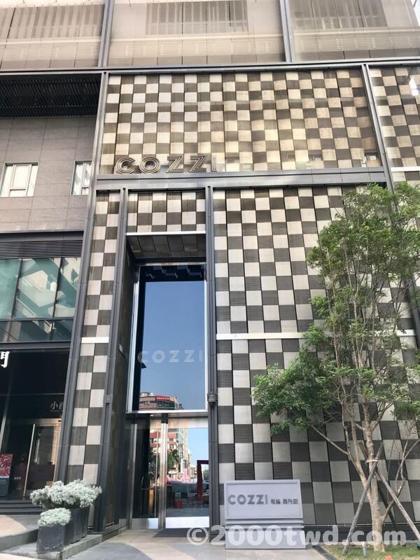 ホテル コッツィ シーメン 台南
